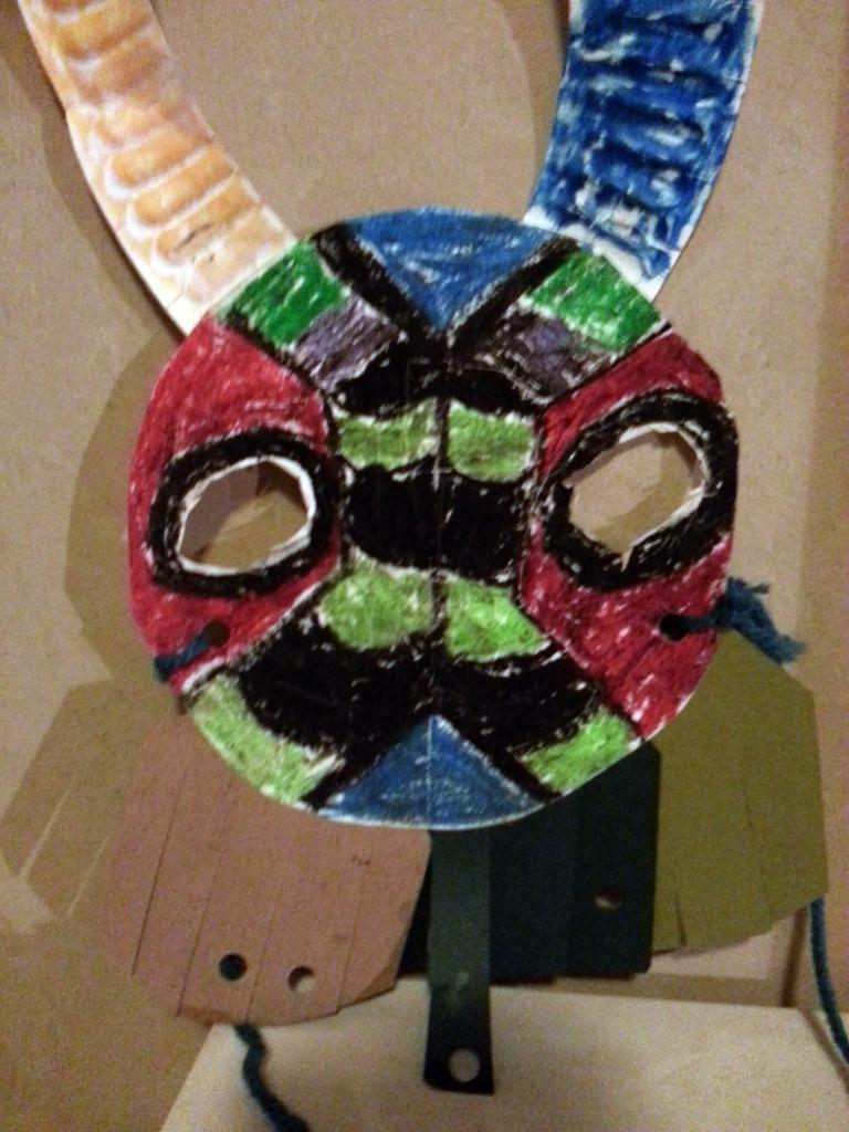 Cat-Griz Stealth Mask by Marlen Brunkhorst