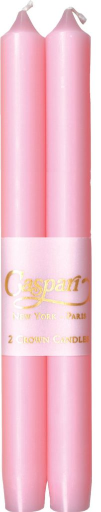 Light pink taper candle - Caspari
