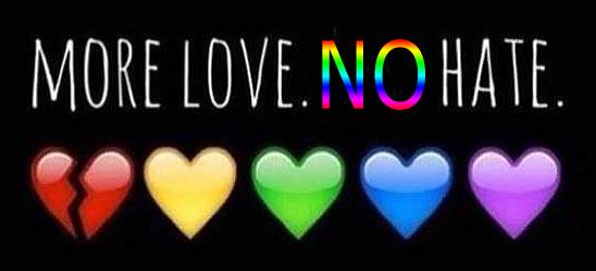 More Love NO Hate