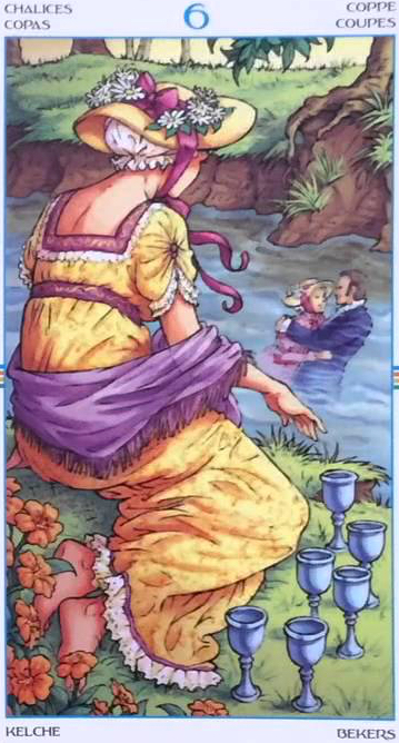 6 of Cups (Wheel of the Year tarot)