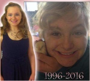 Brianna Foisy 1996-2016
