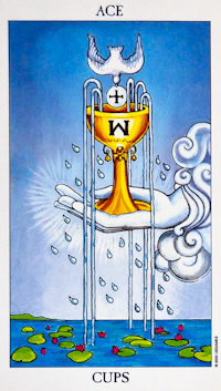 Radiant Rider Waite Ace of Cups