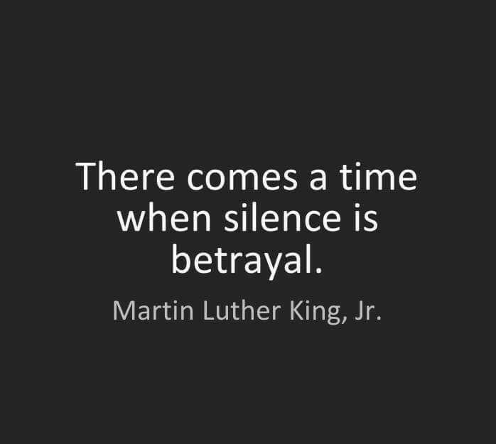 MLK - Silence is Betrayal
